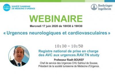 Webinaire Urgences neurologiques et cardiovasculaires