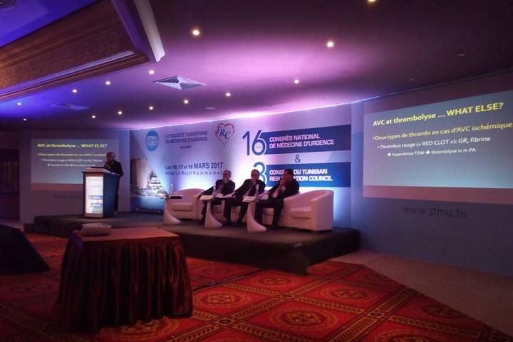 16ème congrès national de médecine d'urgence